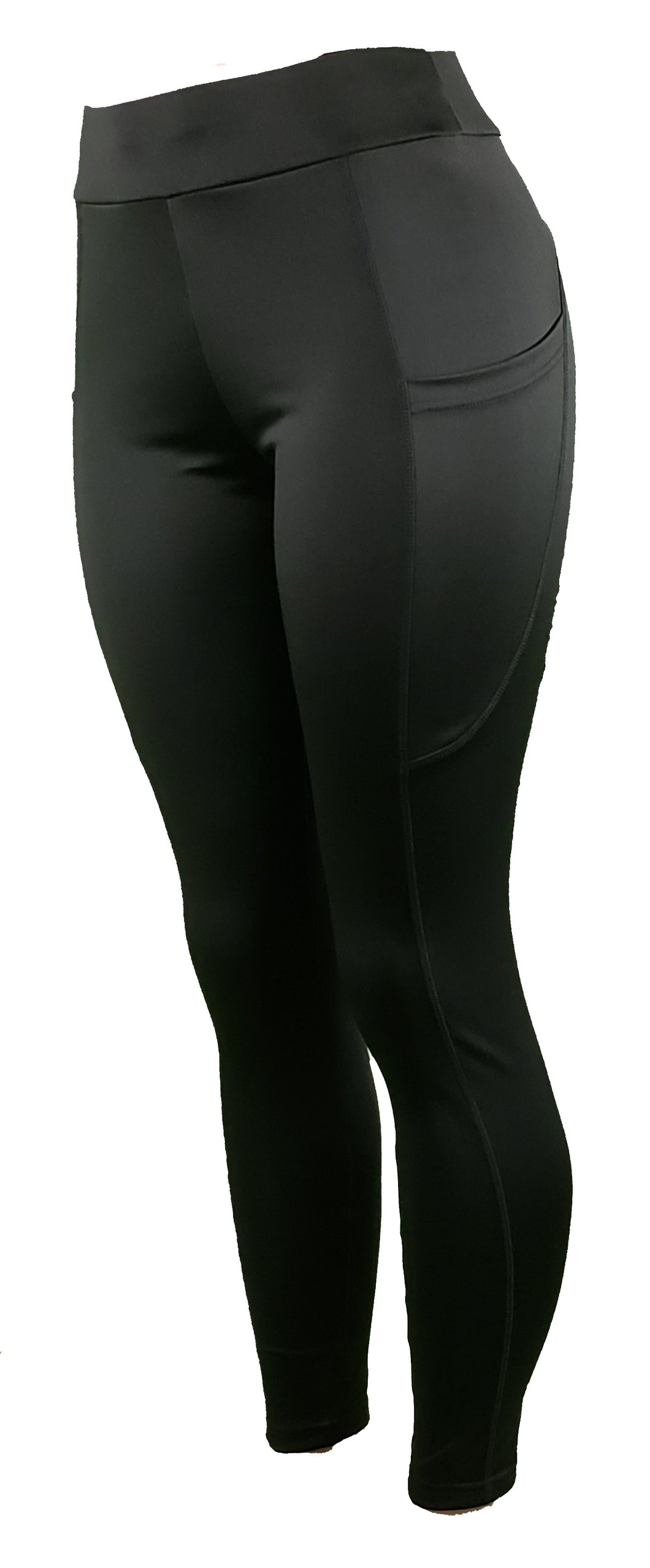Black leggings with pockets - GS4LESS