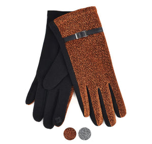 Nollia Women's Sparkly Touch Screen Winter Gloves Winter Gloves Nollia