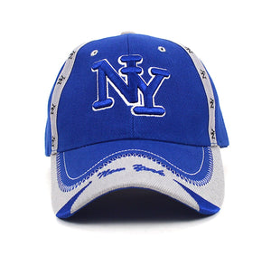 Parquet New York 3D Embroidered Baseball Caps