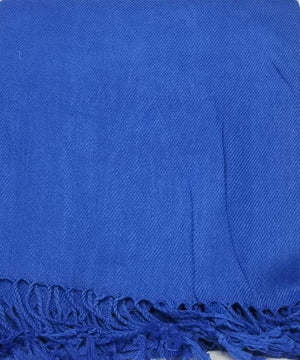 Pashmina Scarves Scarf GS4LESS Royal Blue
