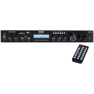 Pyle Home Theater Audio Receiver Sound System With Bluetooth Home Theater and Stereos Pyle(r)