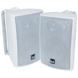 "Dual 4"" 3-way Indoor And Outdoor Speakers (white)"