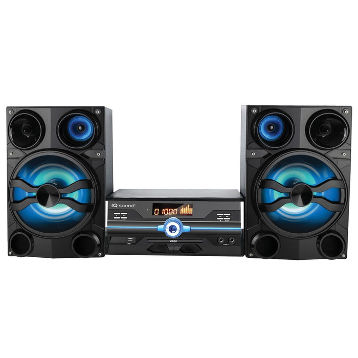 Supersonic Hi-fi Multimedia Audio System With Bluetooth And Auxiliary And Usb And Microphone Inputs