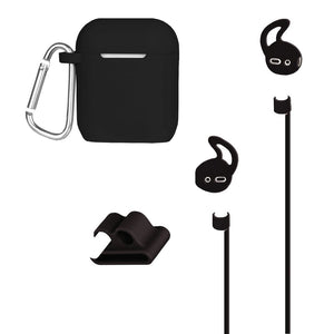 At&t Airpods Case And Accessories Kit (black)