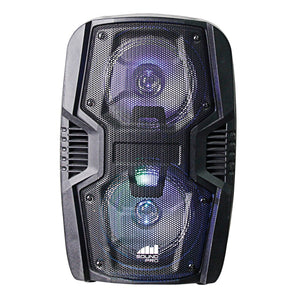 Naxa Portable 6.5-inch Dual Party Speakers And Disco Light