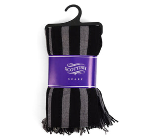Scottish Acrylic Winter Stripe Scarf Winter Accessories Scottish