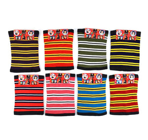 Striped Acrylic 2-in-1 Winter Beanie and Neck Warmer Winter Accessories GS4LESS