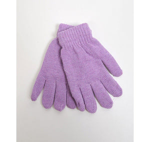 Women's Solid Color Stretch Gloves Women's Gloves GS4LESS Lavender