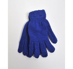 Women's Solid Color Stretch Gloves Women's Gloves GS4LESS Royal Blue