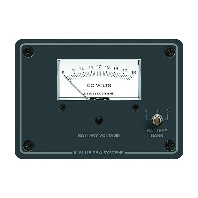 Blue Sea 8015 DC Analog Voltmeter w/Panel [8015]