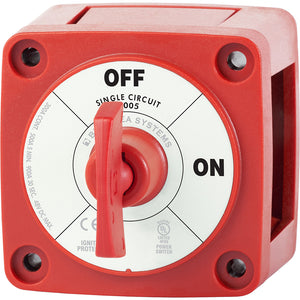 Blue Sea 6005 m-Series (Mini) Battery Switch Single Circuit ON/OFF [6005]