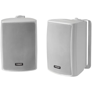"FUSION 4"" Compact Marine Box Speakers - (Pair) White"