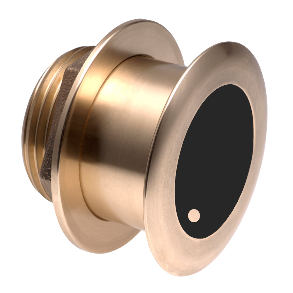 Garmin Bronze Thru-hull Wide Beam Transducer w/Depth & Temp - 20° tilt, 8-pin - Airmar B175HW