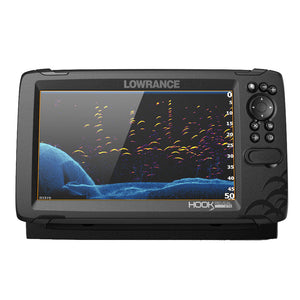 Lowrance HOOK Reveal 9 Combo w/TripleShot Transom Mount  C-MAP Contour+ Card [000-15851-001]