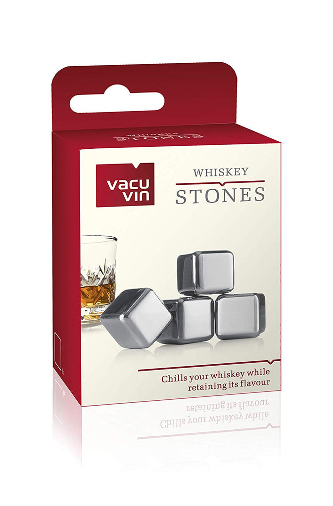 Set 4 Piedras Whiskey VACU VIN