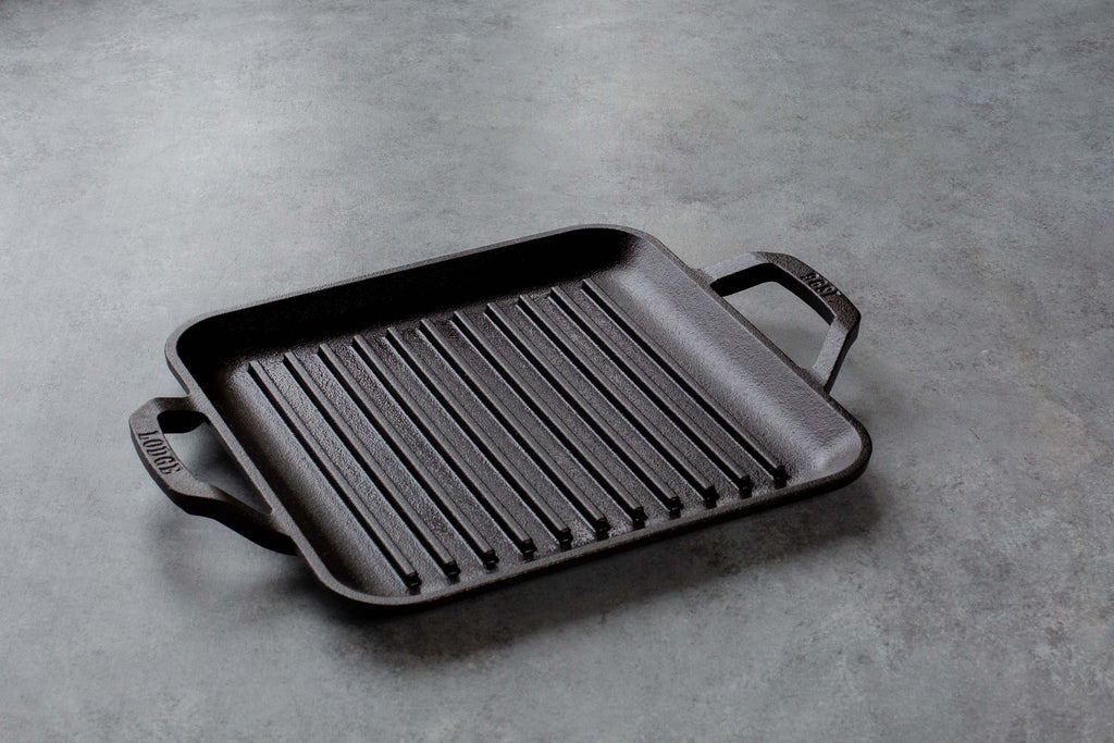 Grill Cuadrado 28cm CHEF COLLECTION Lodge Cast Iron