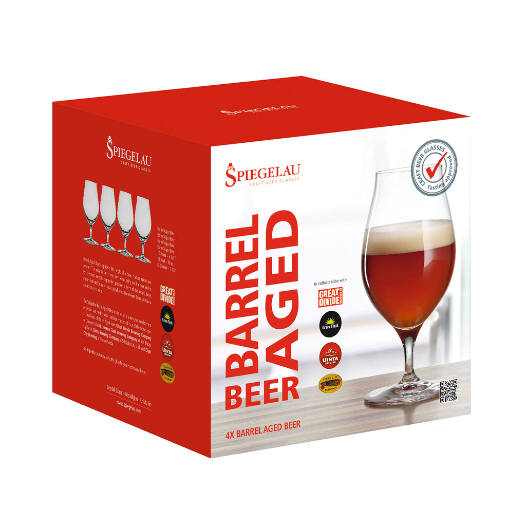Set 4 Copas Cerveza BARREL AGED 510ml Spiegelau