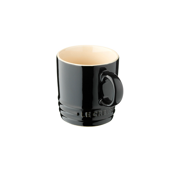 Mug 350ml NEGRO BRILLANTE Le Creuset