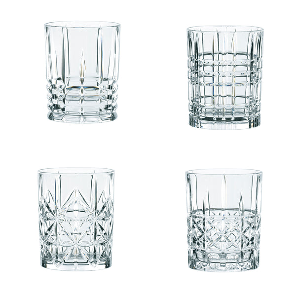 Set 4 Vasos Whisky HIGHLAND NACHTMANN