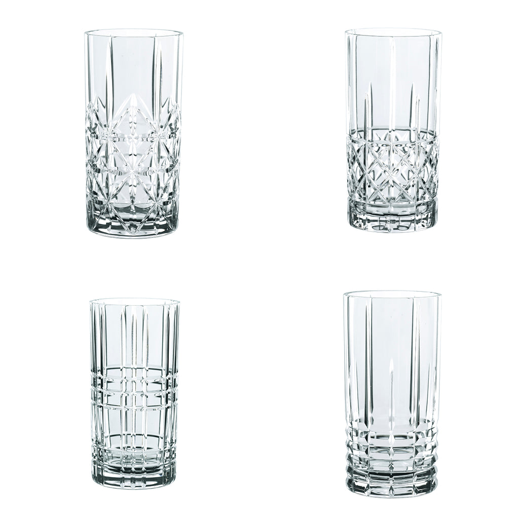 Set 4 Vasos Largos HIGHLAND NACHTMANN