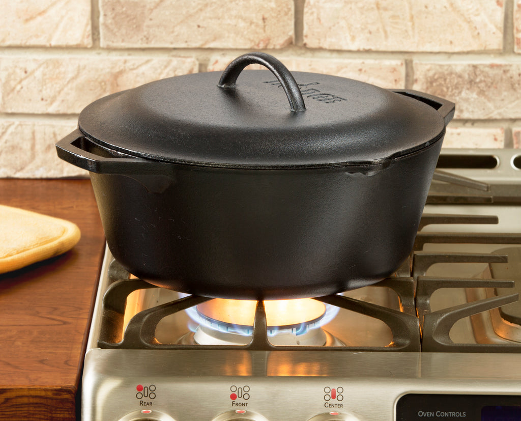 Olla con Tapa 6,62lt Hierro Fundido LODGE CAST IRON