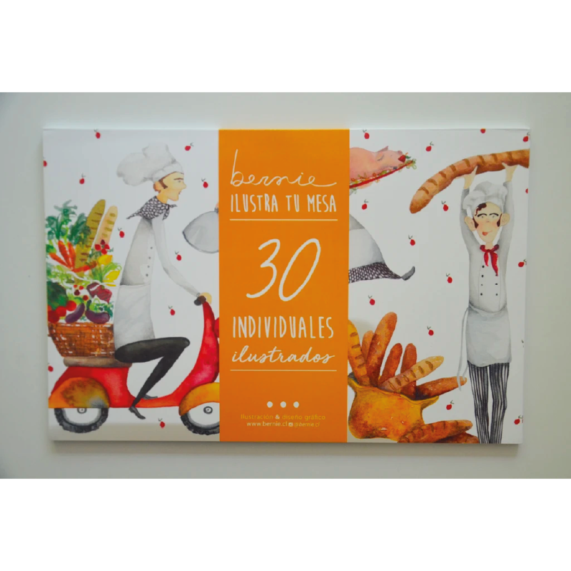 Individuales Papel Chef Pack de 30