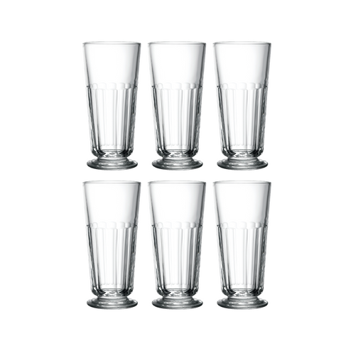 Set 6 Vaso Alto 396ml PERIGORD