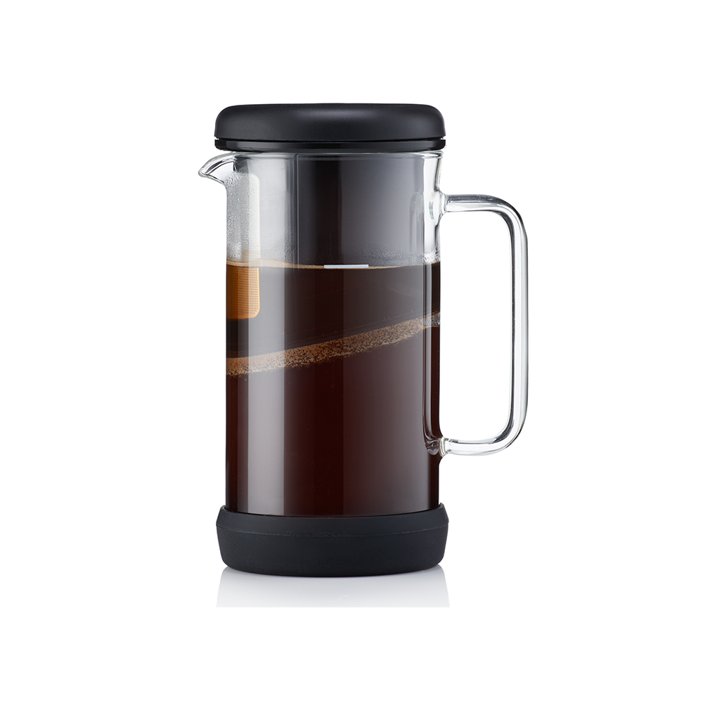 Cafetera e Infusor OneBrew Negro