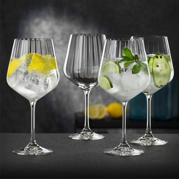 Set 4 Copas Gin&Tonic Optic Nachtmann