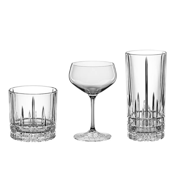 Set 3 Vasos Cocktail Perfect Serve Masterclass Spiegelau