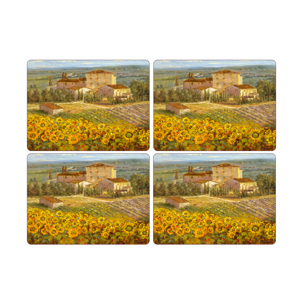 Set 4 Individuales 40,1x29,8cm Toscana