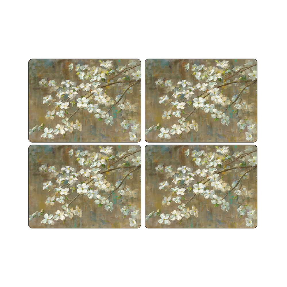 Set 4 Individuales 40,1x29,8cm Flor Cerezo