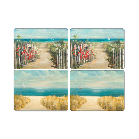 Set 4 Individuales 40,1x29,8cm Summer Ride