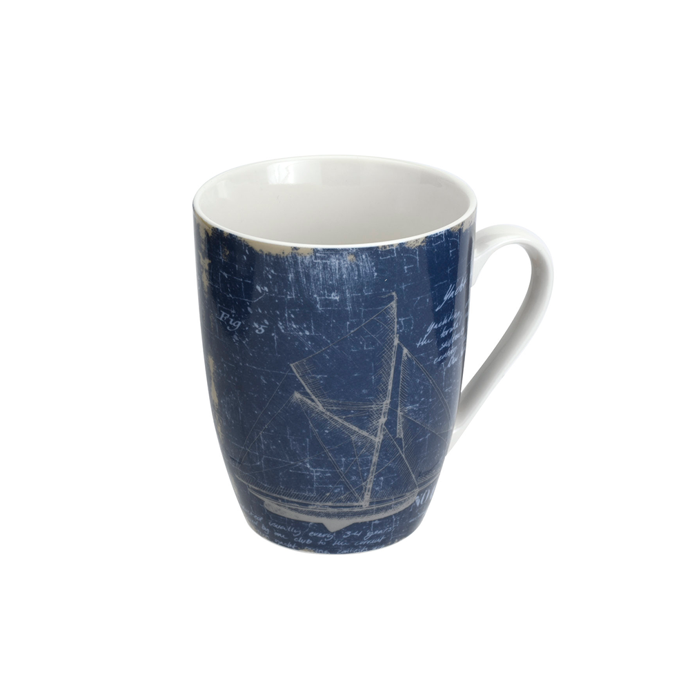 Mug 340ml Yate Azul