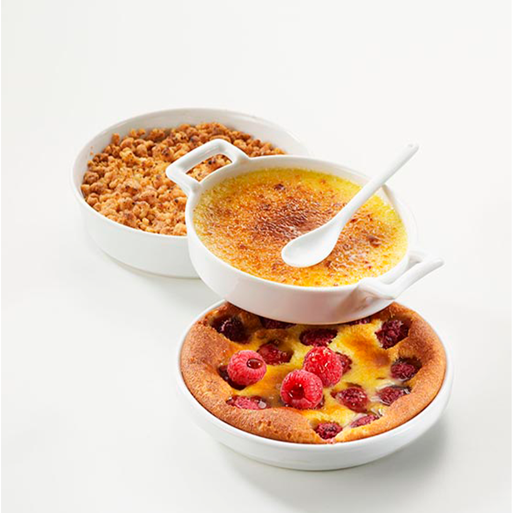 Plato Creme Brulee 14x(H)3,5cm ALEXANDRIE
