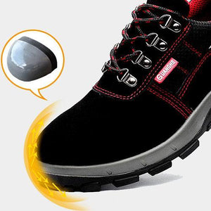 Indestructible Steel Toe Work Shoes