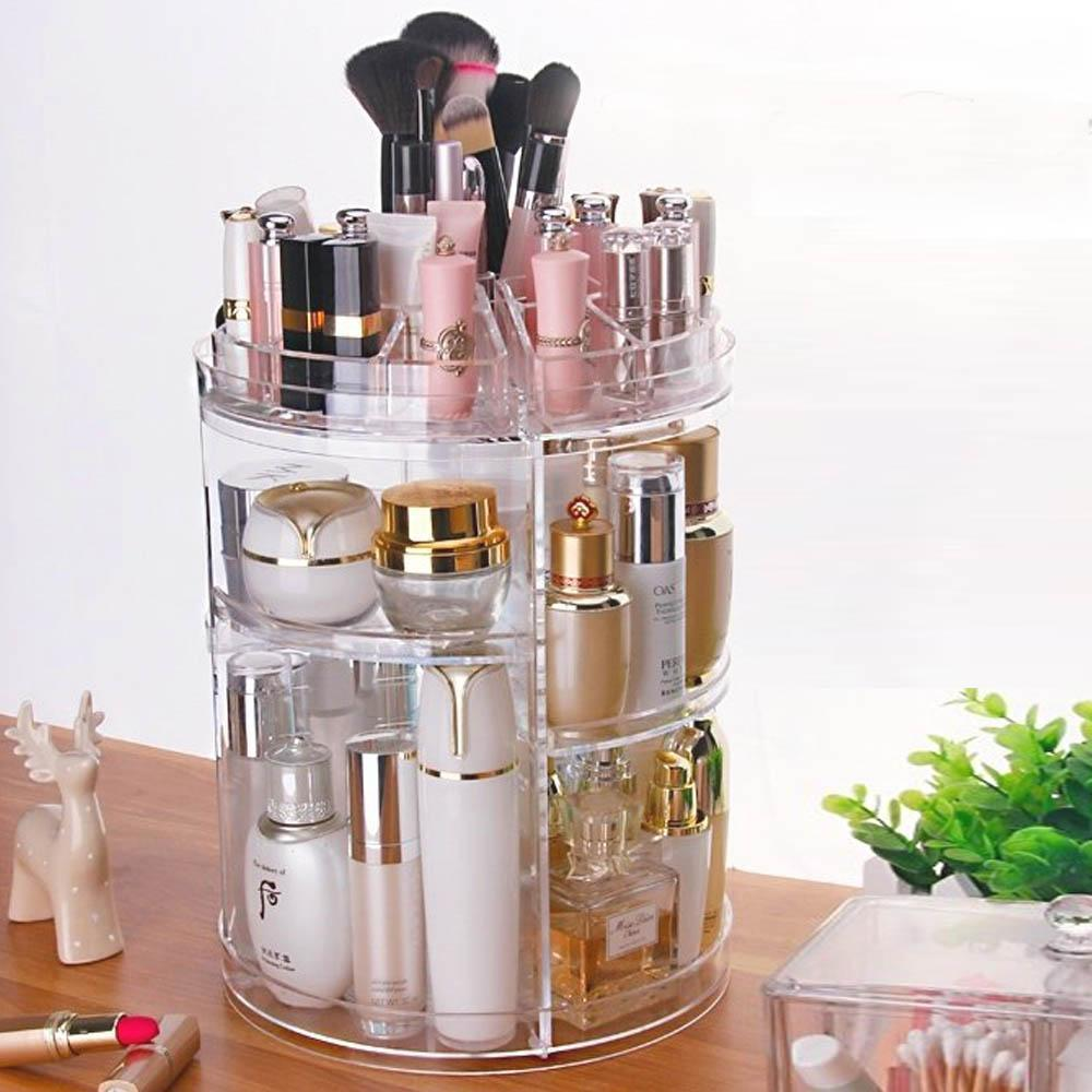 Compact Makeup And Essentials Organizer