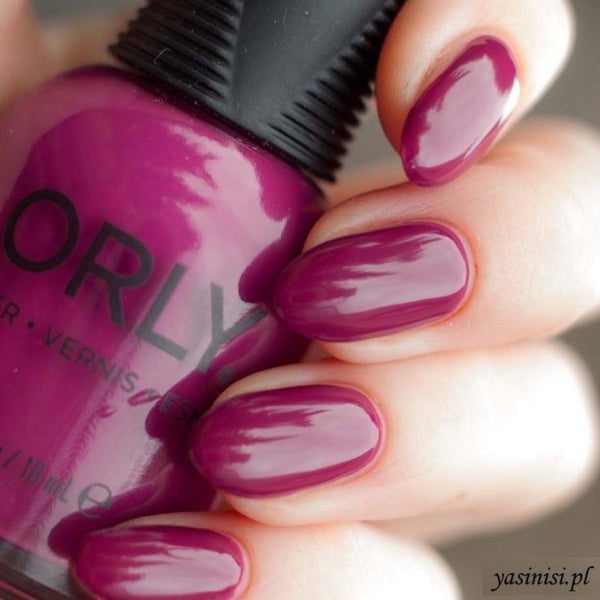 Orly Black Cherry Nail Polish 18Ml Lacquer