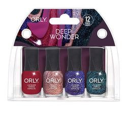 Orly Deep Wonder 4 Piece Mini Kit