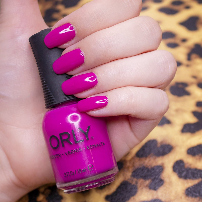 ORLY Wild Thing Dragonfruit Swatch