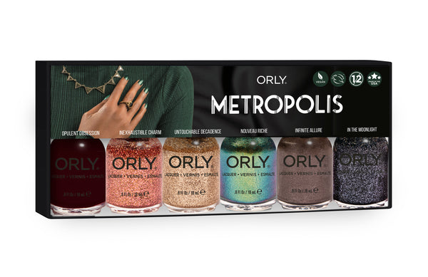 ORLY Metropolis Nail Polish Collection- 6 Piece