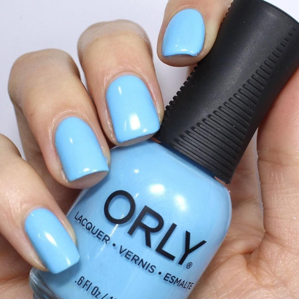 Orly Glass Half Full Nail Polish 18Ml Lacquer