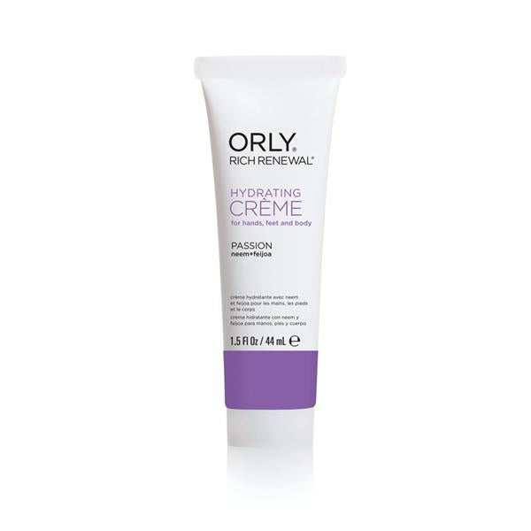 Orly Passion Creme Rich Renewal Cream 1.5 Oz Hand