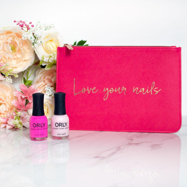 Pink ORLY bag
