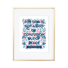 Load image into Gallery viewer, 1 Corinthians 14:33 Print