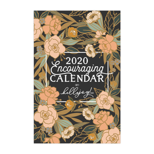 2020 Encouraging Wall Calendar