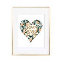 Load image into Gallery viewer, Live Loved Ephesians 5:1 Print