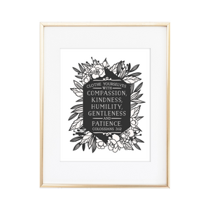 Colossians 3:12 Print