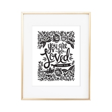 Load image into Gallery viewer, You Are So Loved - John 3:16 Print