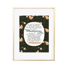 Load image into Gallery viewer, Philippians 4:6-7 Print
